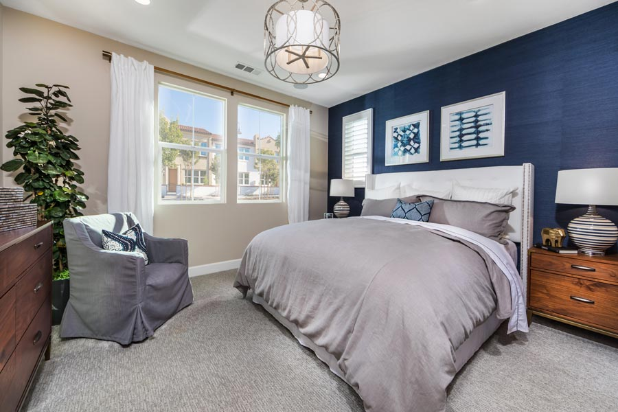 Plan 3 Master Bedroom | Solstice at New Haven in Ontario Ranch, CA | Brookfield Residential