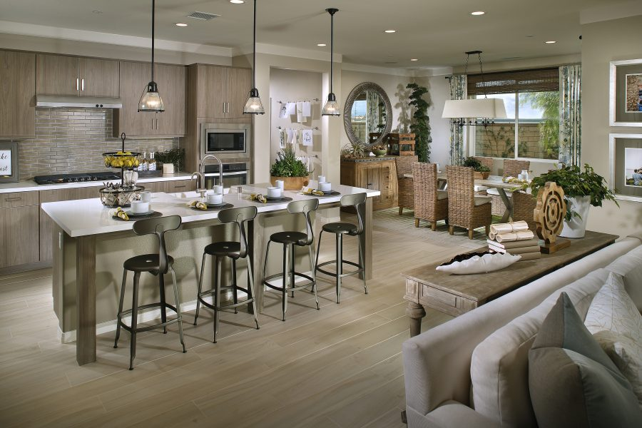 Great Room | Summerset at New Haven in Ontario Ranch, CA | Brookfield Residential