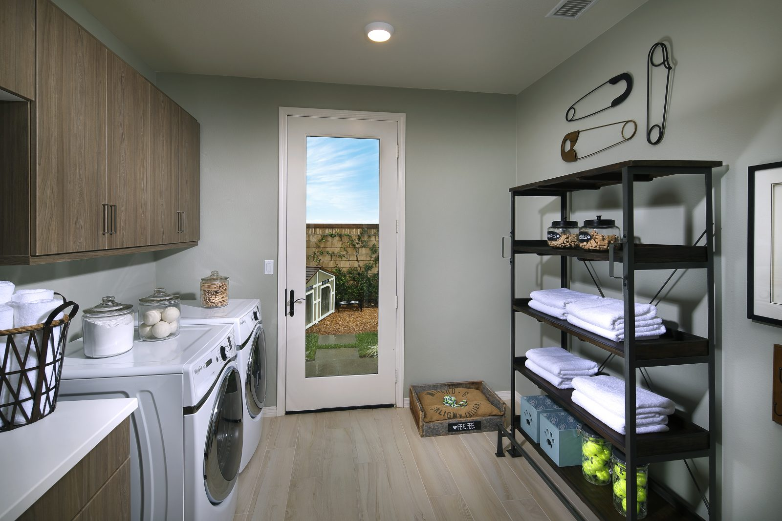 Laundry Room | Summerset at New Haven in Ontario Ranch, CA | Brookfield Residential