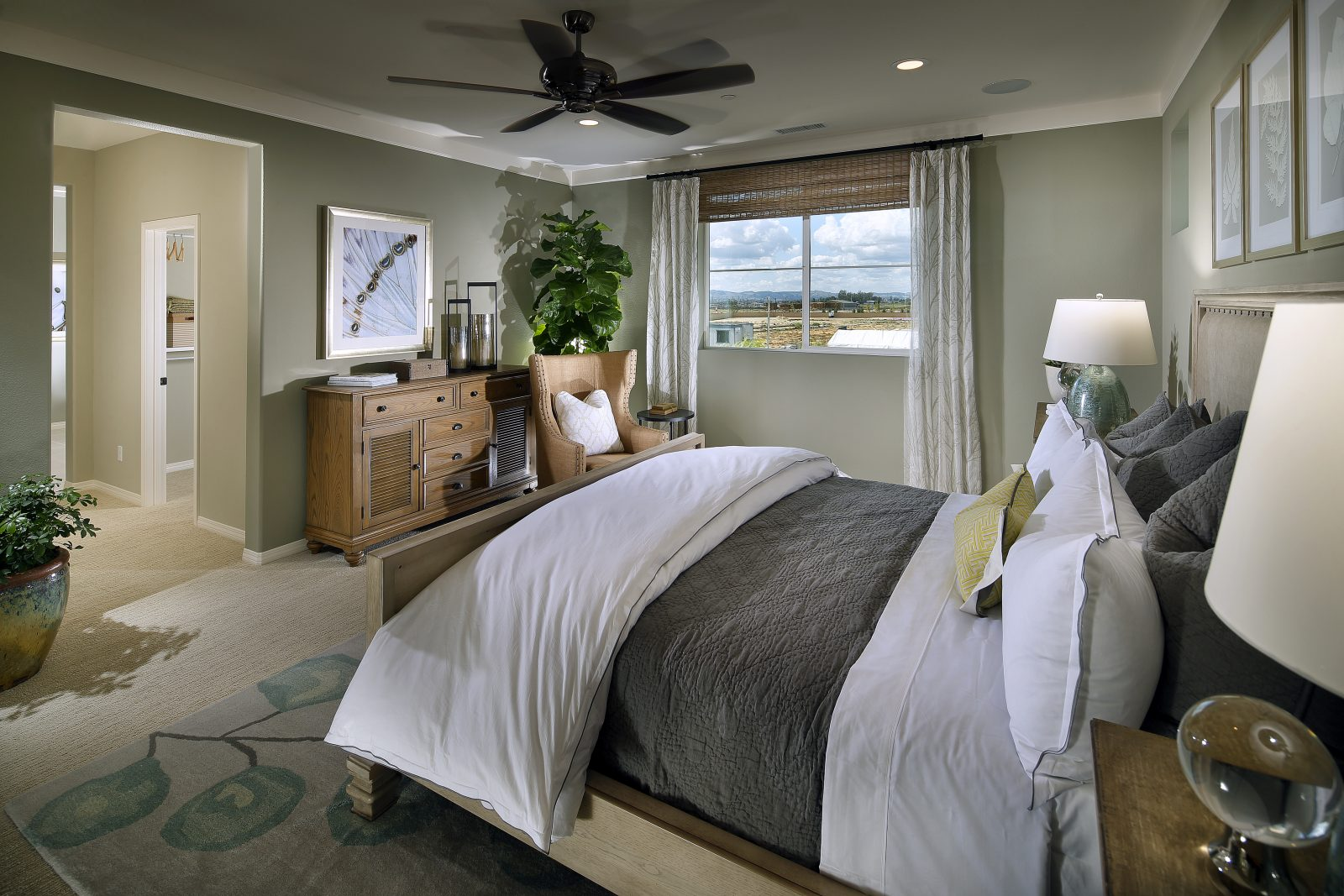 Master Bedroom | Summerset at New Haven in Ontario Ranch, CA | Brookfield Residential