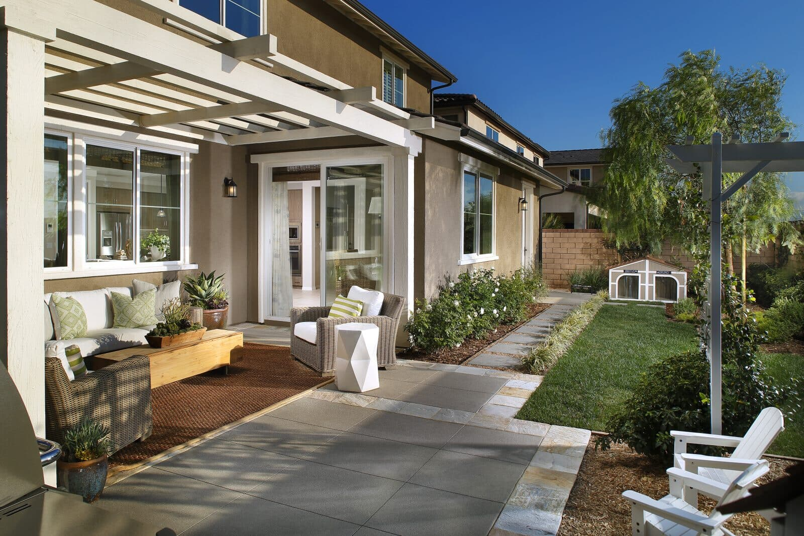 Patio | Summerset at New Haven in Ontario Ranch, CA | Brookfield Residential