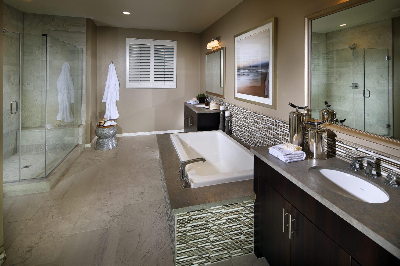 Master Bathroom | Summerset at New Haven in Ontario Ranch, CA | Brookfield Residential