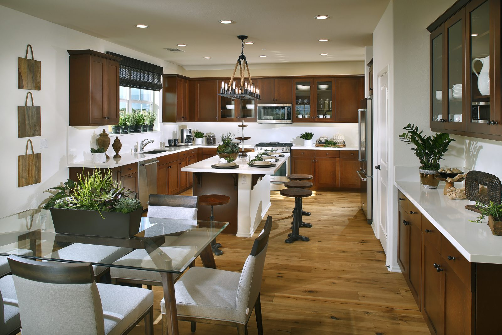 Kitchen Nook | Waverly at New Haven in Ontario Ranch, CA | Brookfield Residential