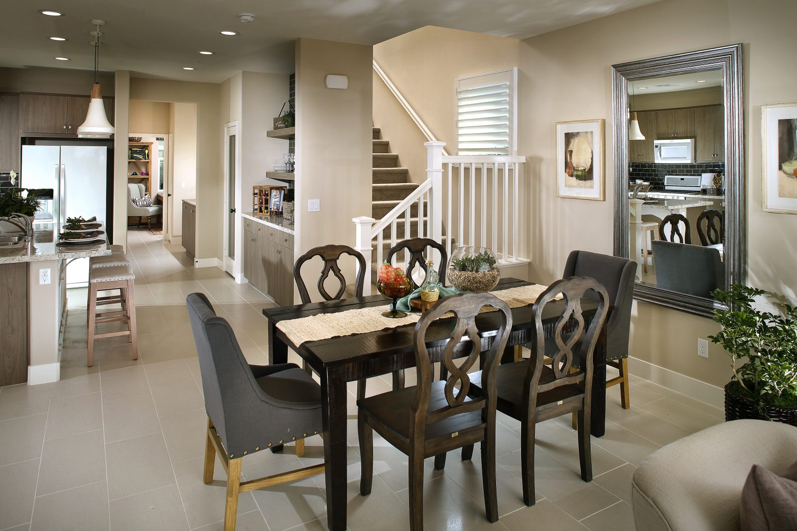Dining Room | Waverly at New Haven in Ontario Ranch, CA | Brookfield Residential