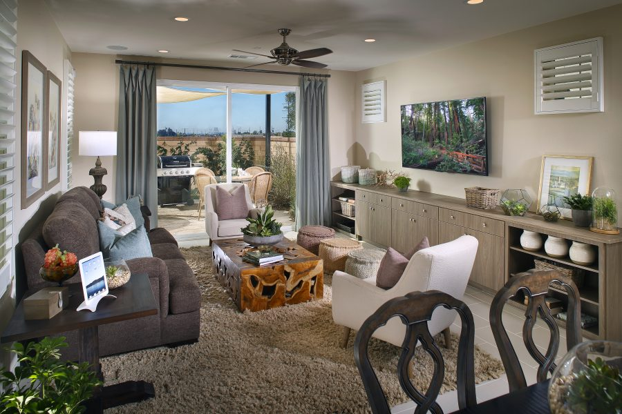 Living Room | Waverly at New Haven in Ontario Ranch, CA | Brookfield Residential