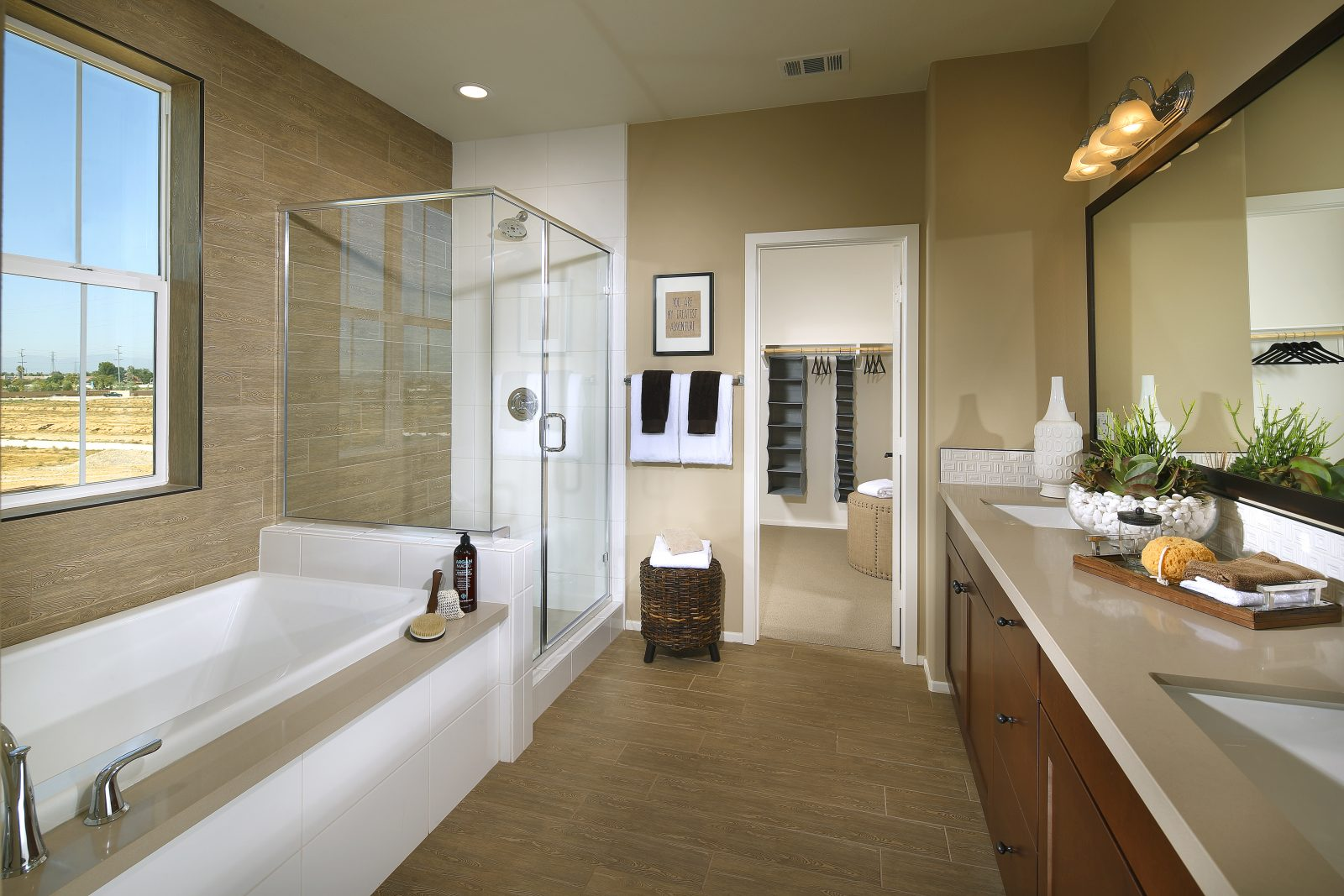 Master Bathroom | Waverly at New Haven in Ontario Ranch, CA | Brookfield Residential