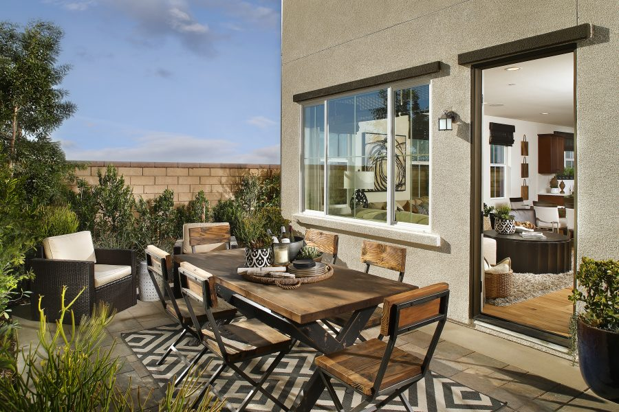 Patio | Waverly at New Haven in Ontario Ranch, CA | Brookfield Residential