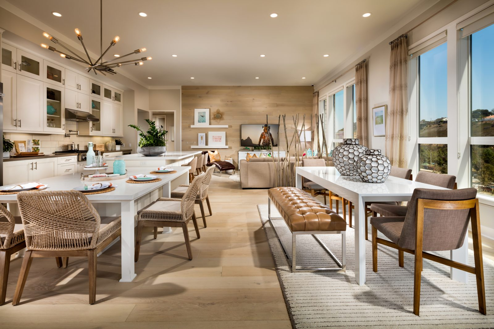 Kitchen to Family Room | Cleo at Playa Vista in Los Angeles, CA | Brookfield Residential