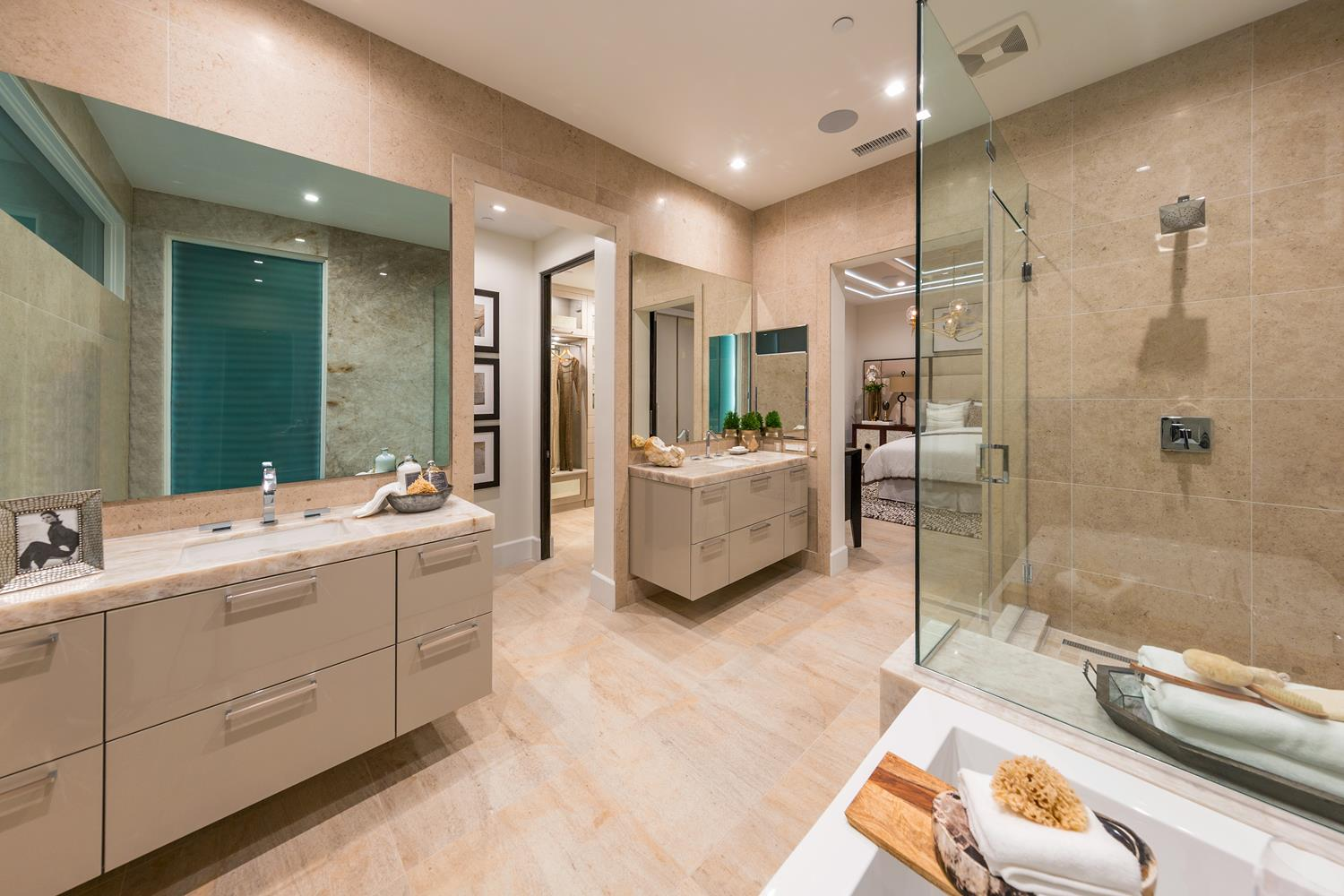 Master bath | 5900 Village Drive | Jewel at Playa Vista in Los Angeles, CA | Brookfield Residential