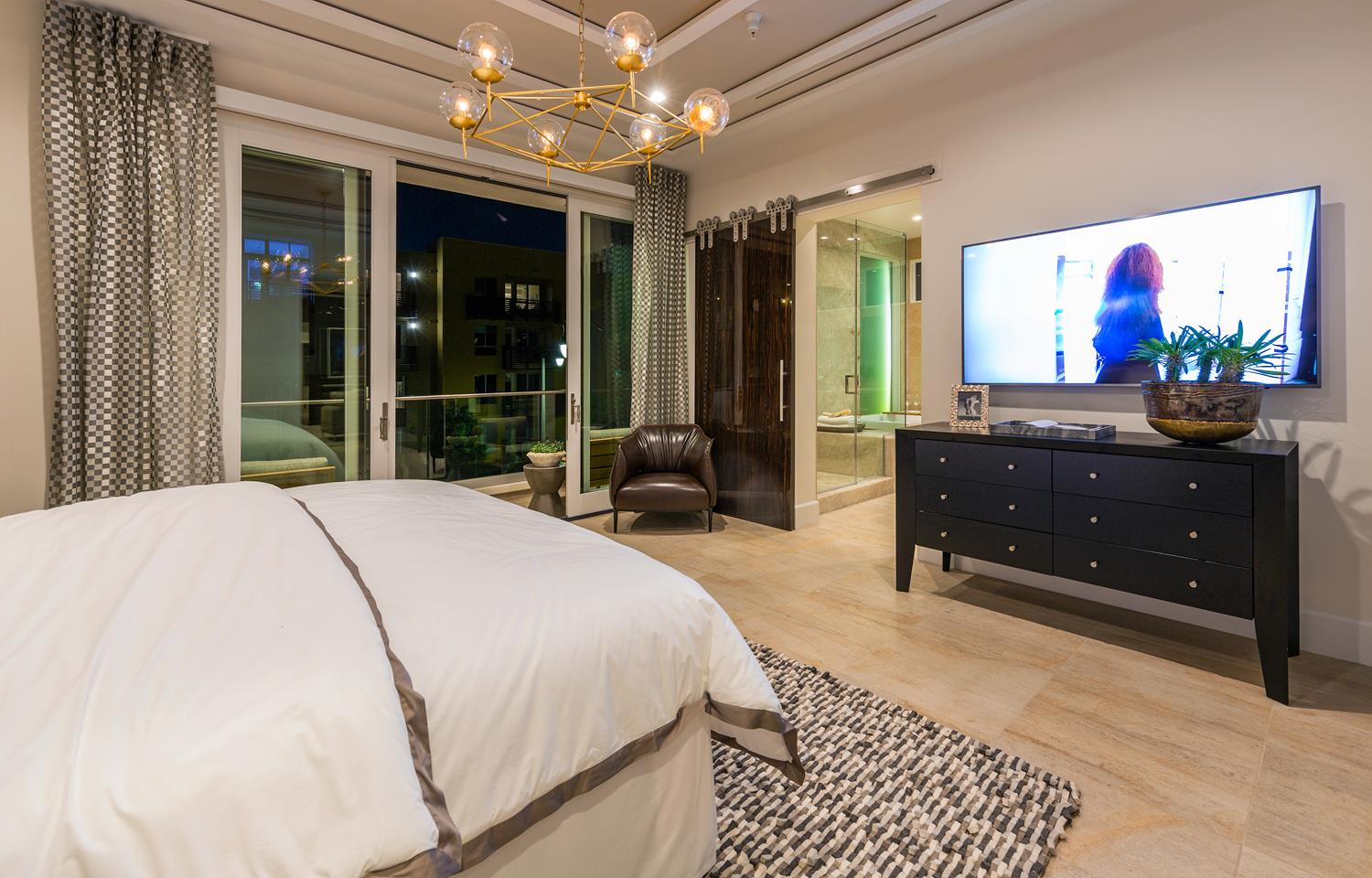 Master bedroom | 5900 Village Drive | Jewel at Playa Vista in Los Angeles, CA | Brookfield Residential