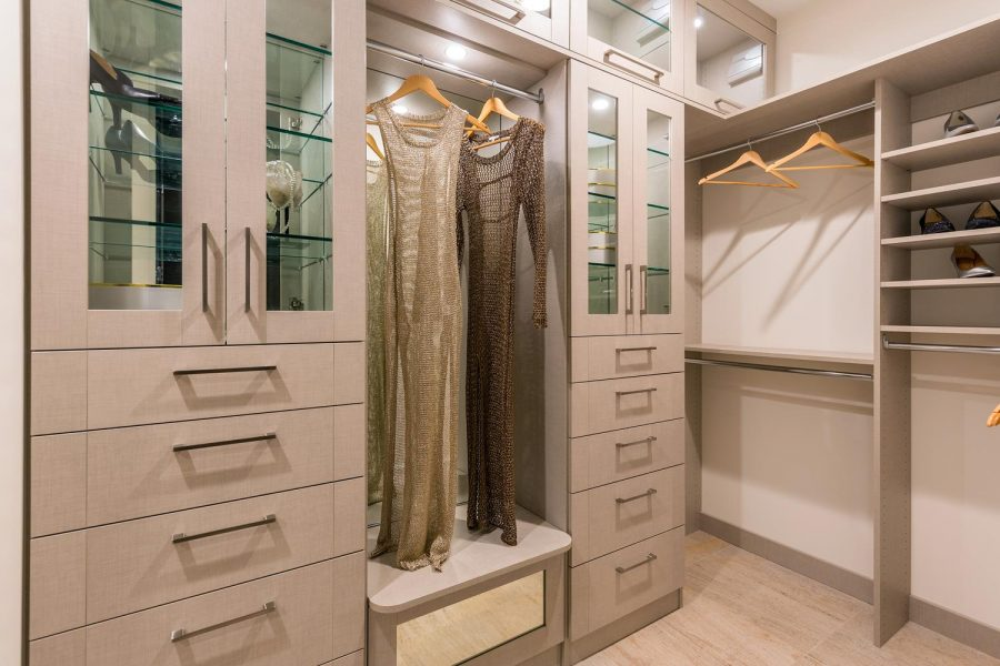 Walk-in closet | 5900 Village Drive | Jewel at Playa Vista in Los Angeles, CA | Brookfield Residential