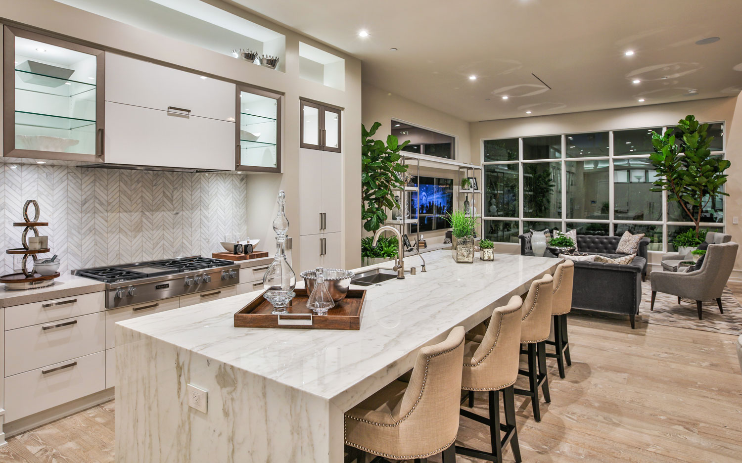 Kitchen | 5904 Village Drive | Jewel at Playa Vista in Los Angeles, CA | Brookfield Residential