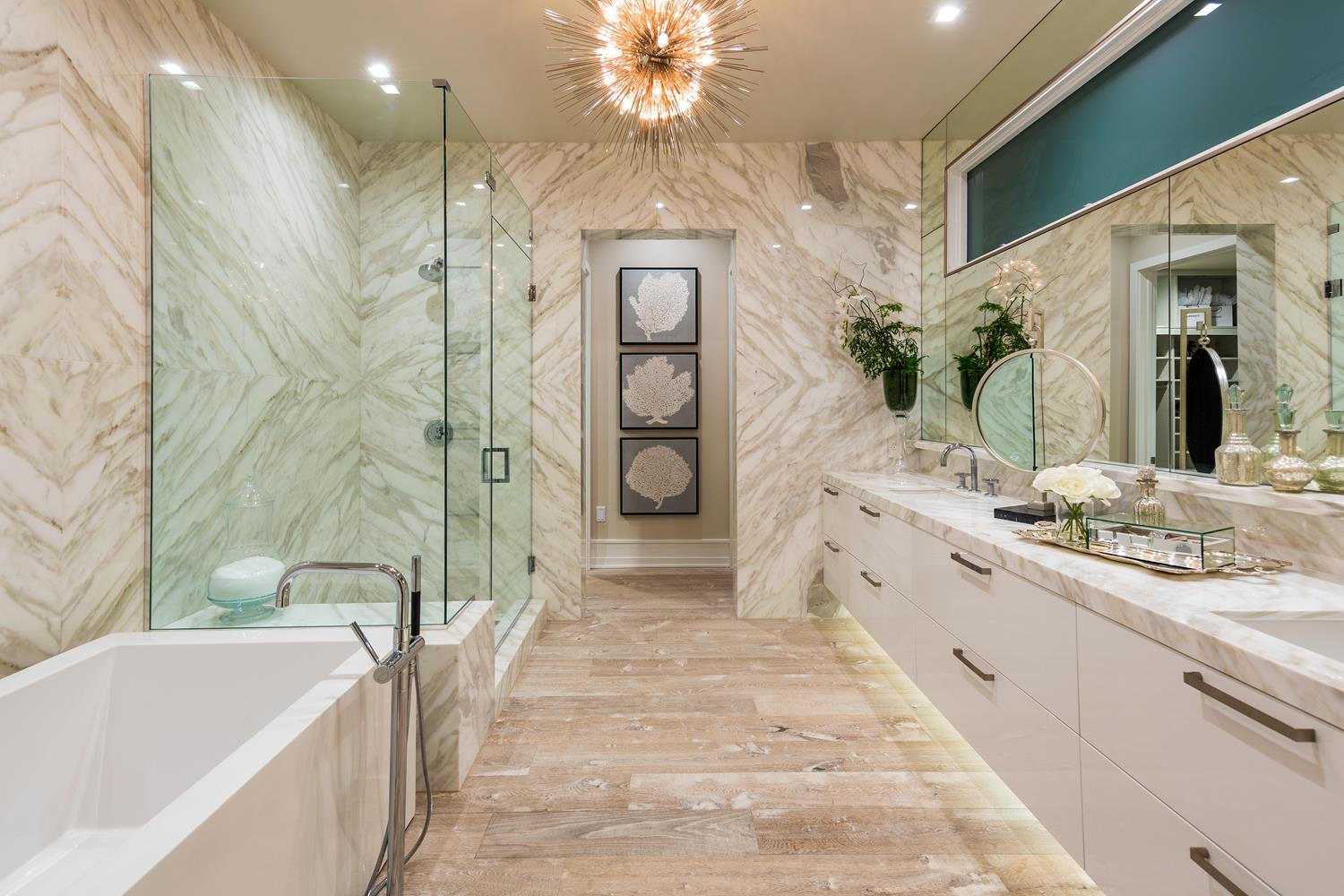 Master bath | 5904 Village Drive | Jewel at Playa Vista in Los Angeles, CA | Brookfield Residential