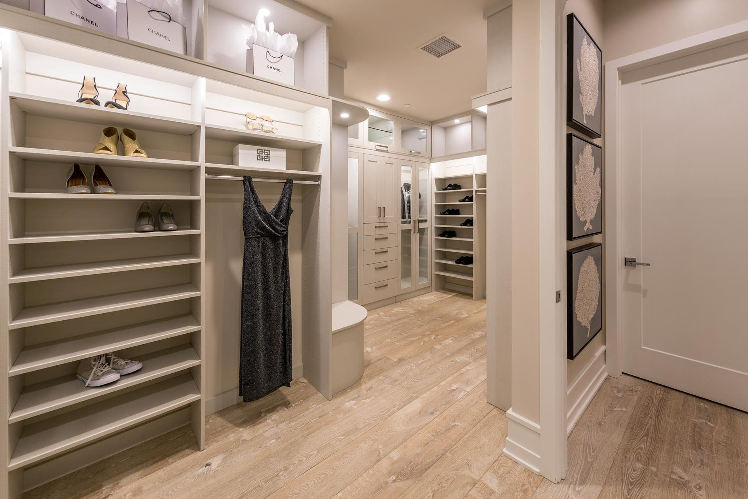 Walk-in closet | 5904 Village Drive | Jewel at Playa Vista in Los Angeles, CA | Brookfield Residential