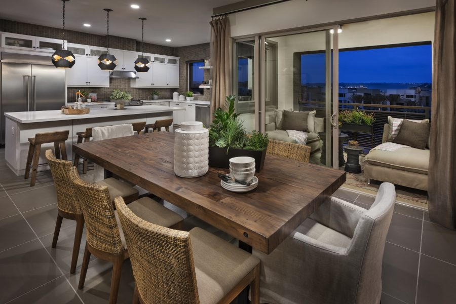 Dining Room | Mason at Playa Vista in Los Angeles, CA | Brookfield Residential