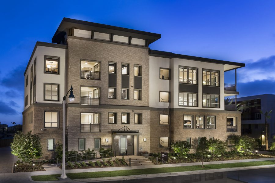 Front Exterior | Mason at Playa Vista in Los Angeles, CA | Brookfield Residential