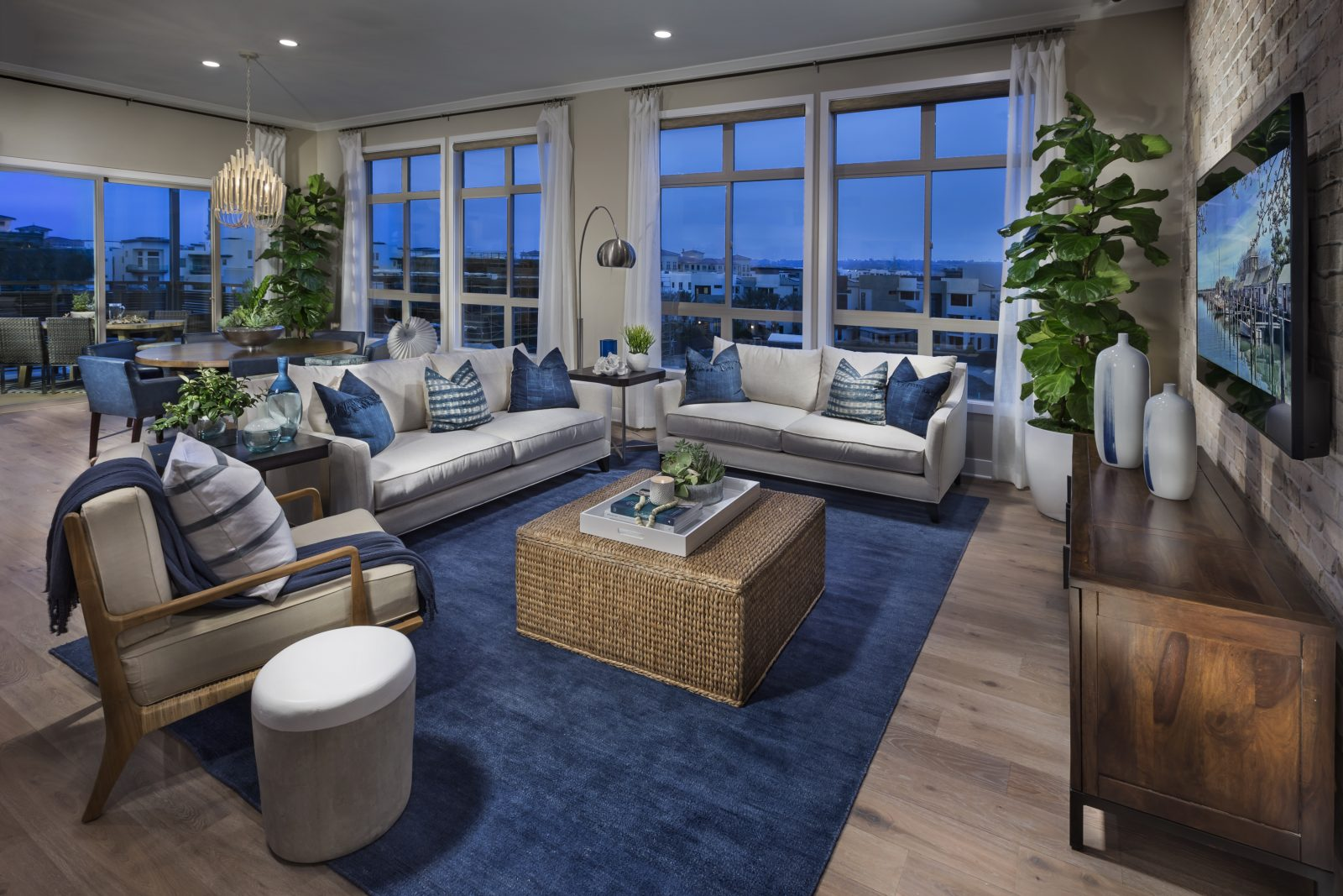 Great Room | Mason at Playa Vista in Los Angeles, CA | Brookfield Residential