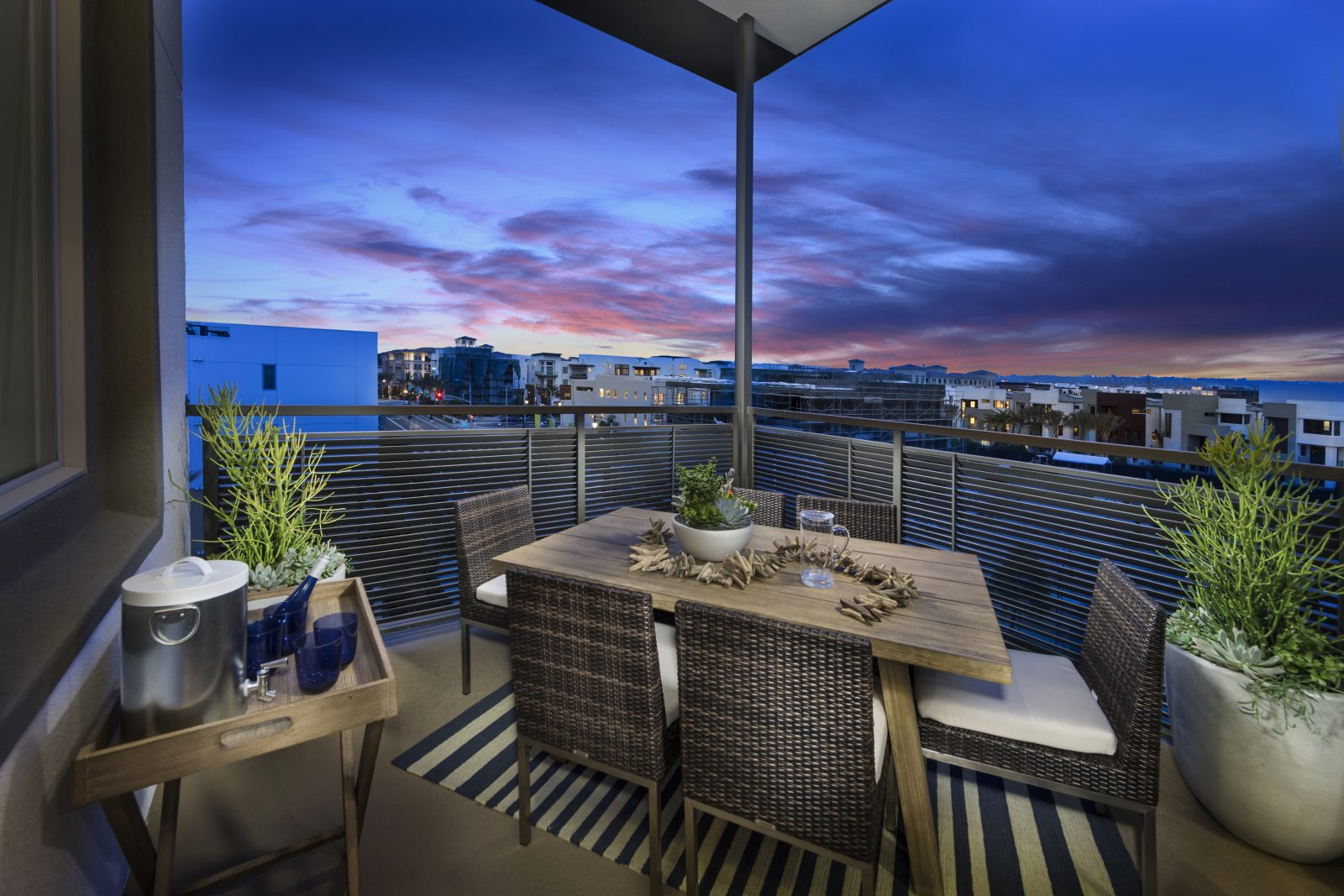 Patio | Mason at Playa Vista in Los Angeles, CA | Brookfield Residential