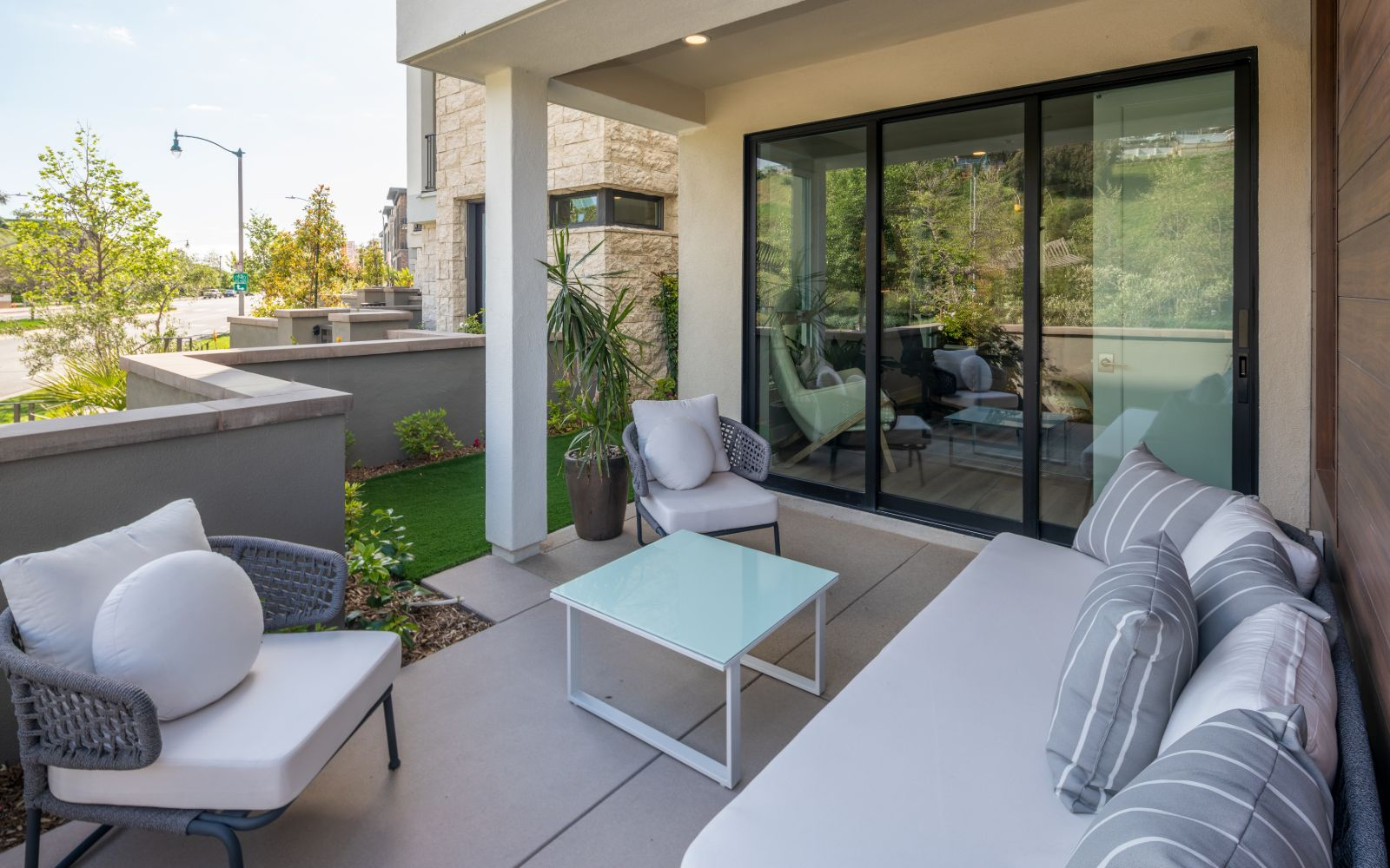 Patio | The Collection at Playa Vista in Los Angeles, CA | Brookfield Residential