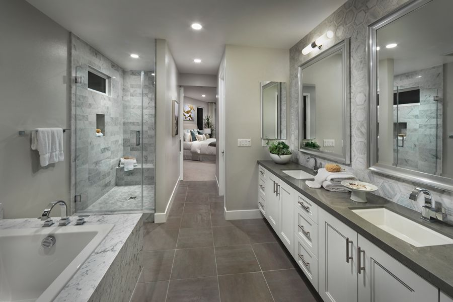 Master Bath | The Collection at Playa Vista in Los Angeles, CA | Brookfield Residential