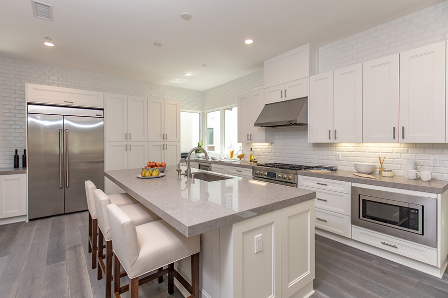 Residence 1 kitchen | The Collection at Playa Vista in Los Angeles, CA | Brookfield Residential
