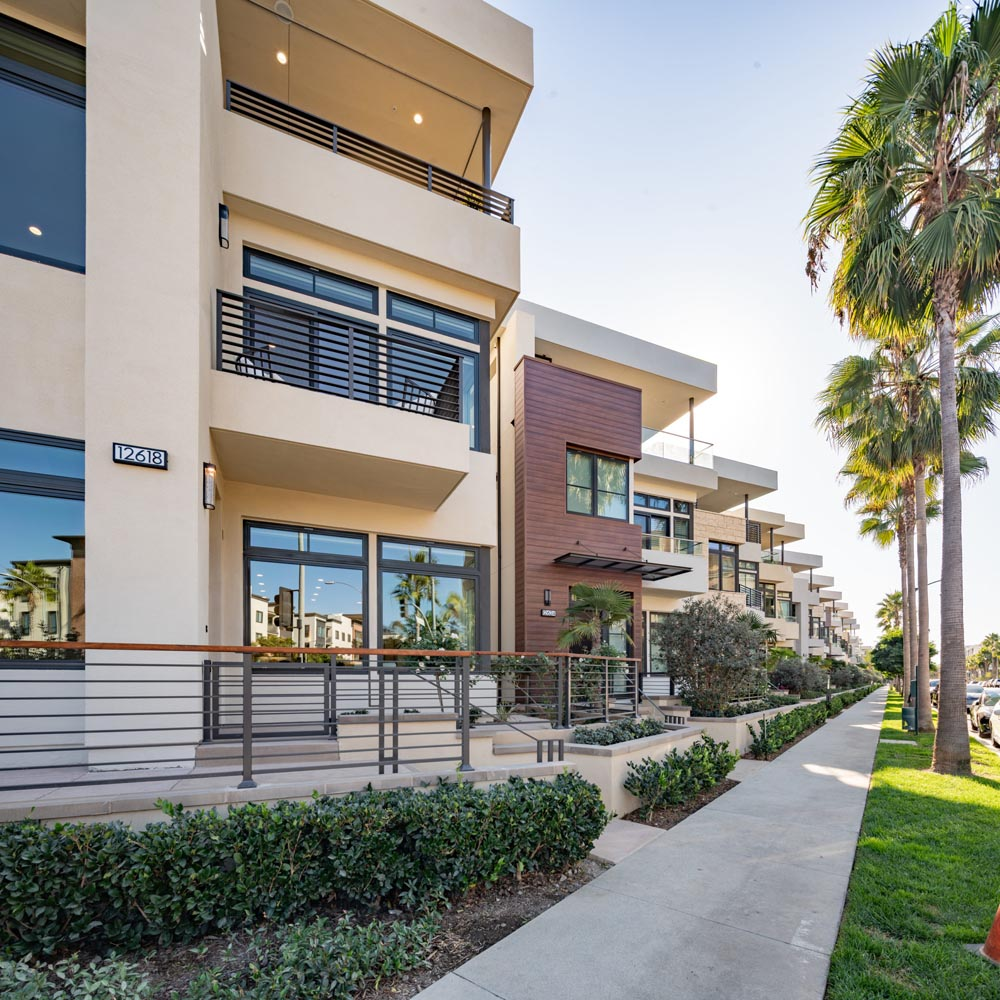 Exterior | The Collection at Playa Vista in Los Angeles, CA | Brookfield Residential