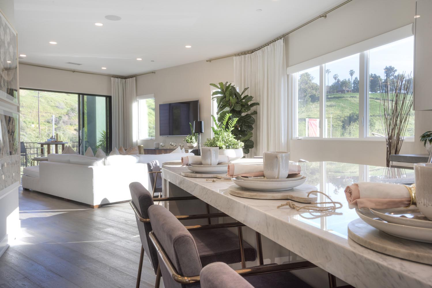 Residence 1 Dining Room | The Collection at Playa Vista in Los Angeles, CA | Brookfield Residential