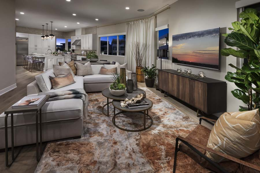 Great Room/Dining | The Collection at Playa Vista in Los Angeles, CA | Brookfield Residential