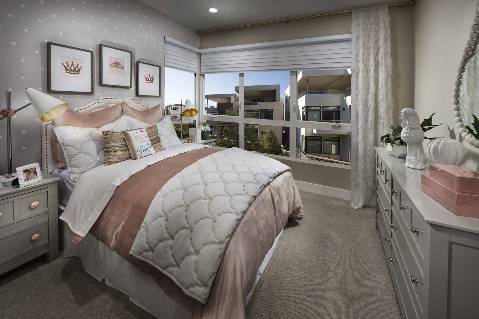 Guest Bedroom | The Collection at Playa Vista in Los Angeles, CA | Brookfield Residential