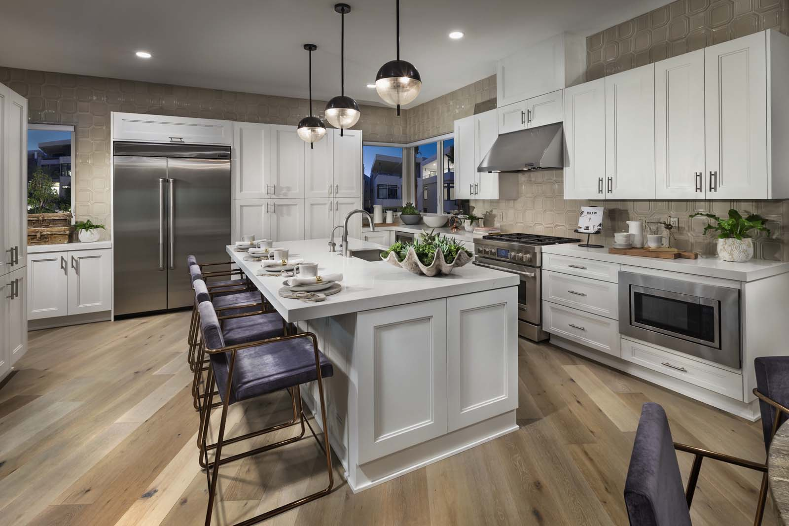 Homes For Sale In Los Angeles The Collection Aluminum Wiring California Kitchen At Playa Vista Ca Brookfield Residential