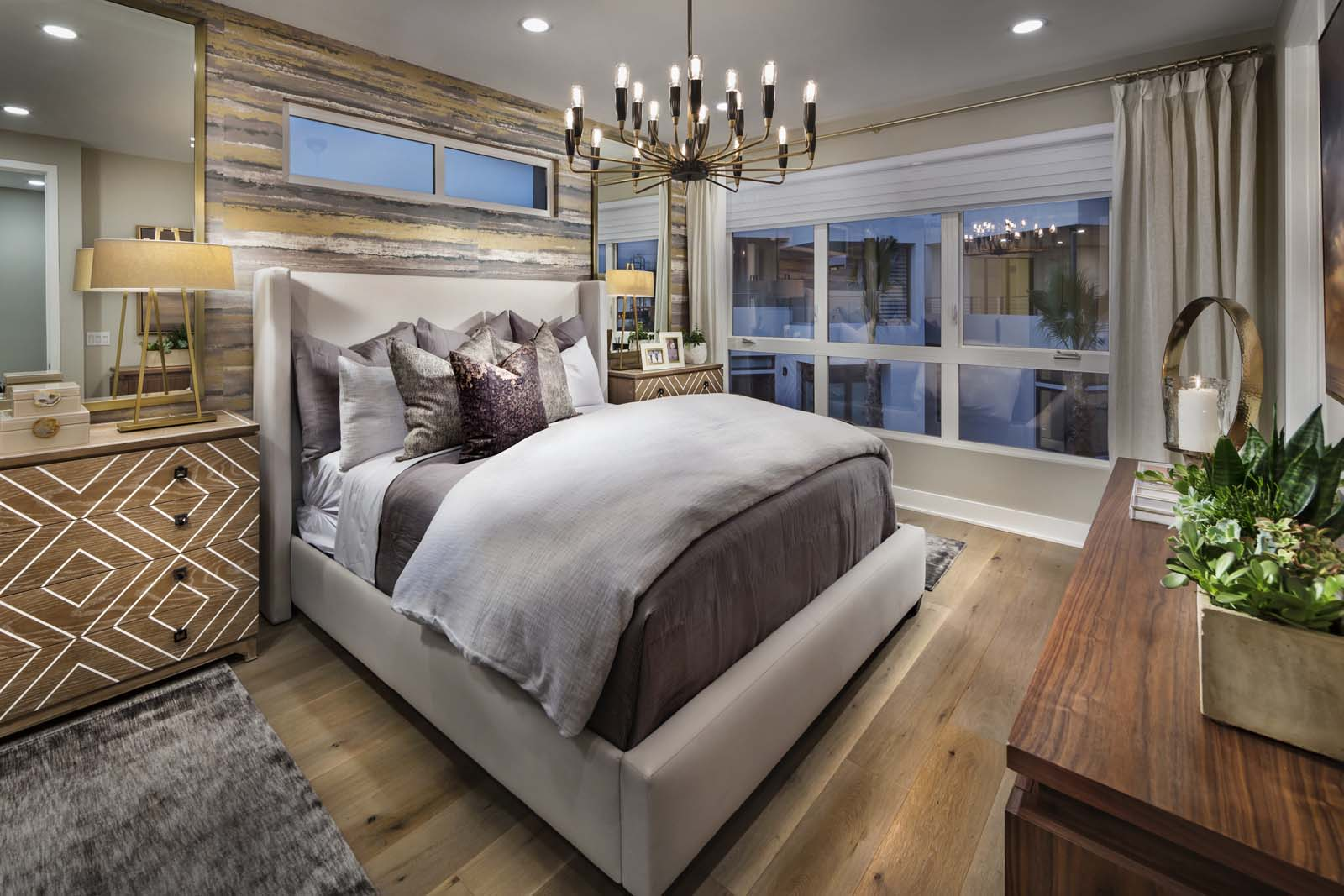 Master Bedroom | The Collection at Playa Vista in Los Angeles, CA | Brookfield Residential