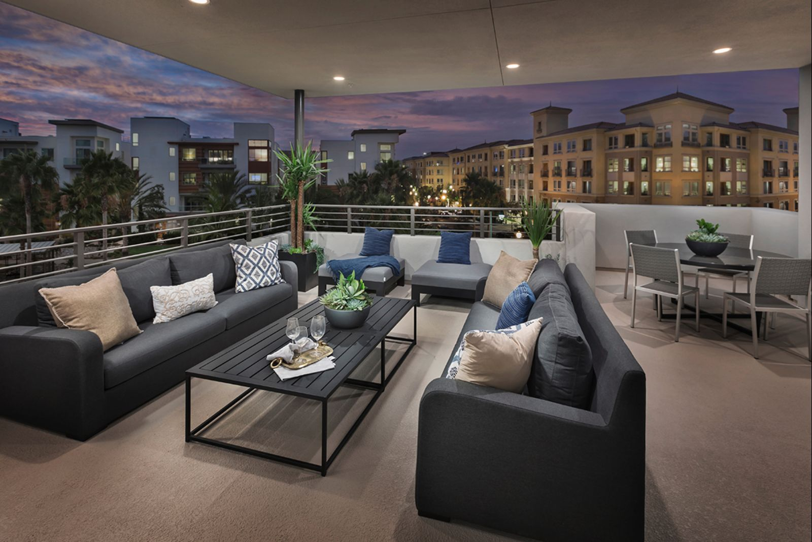 Deck | The Collection at Playa Vista in Los Angeles, CA | Brookfield Residential