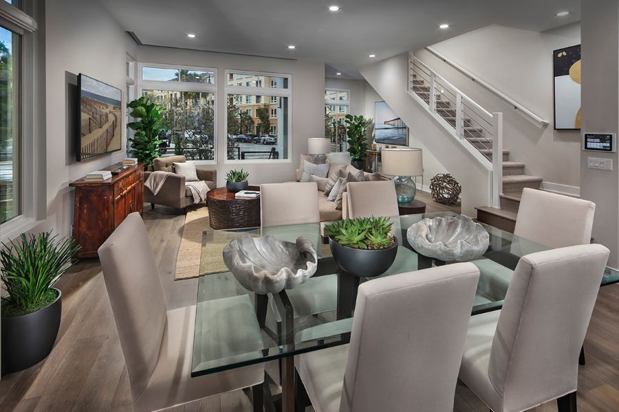 Dining Room | The Collection at Playa Vista in Los Angeles, CA | Brookfield Residential