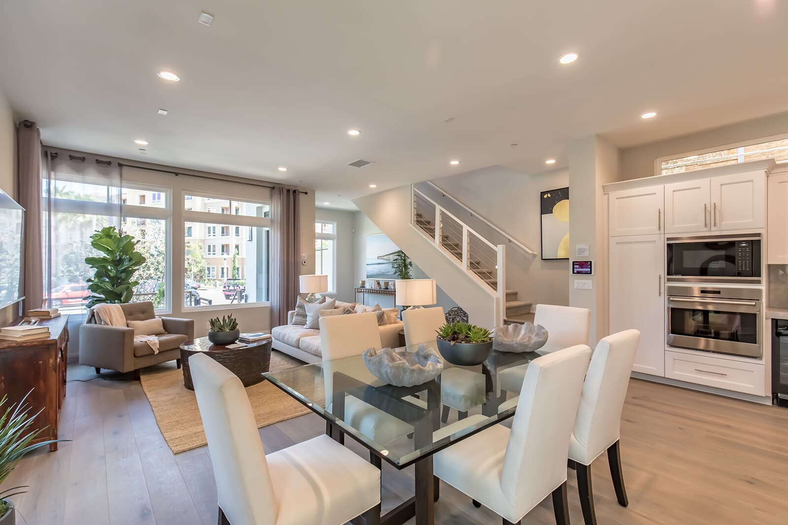 Residence 2 dining room | The Collection at Playa Vista in Los Angeles, CA | Brookfield Residential