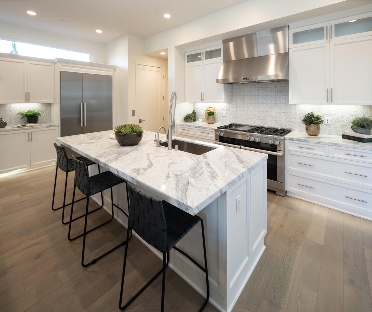 Residence 2 Kitchen | The Collection at Playa Vista in Los Angeles, CA | Brookfield Residential