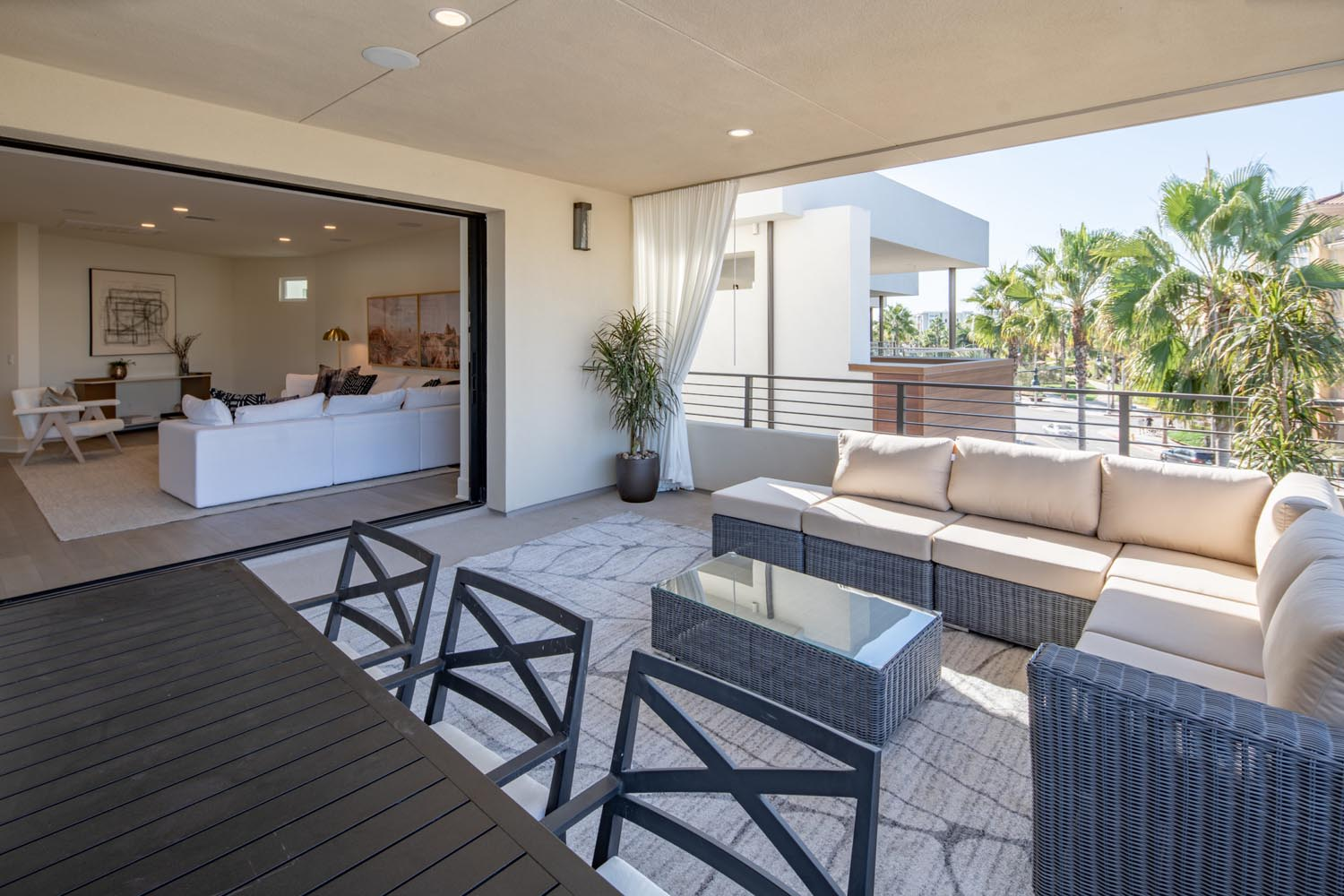 Residence 2 Patio | The Collection at Playa Vista in Los Angeles, CA | Brookfield Residential