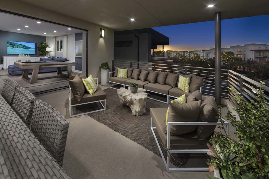 Deck/Loft Residence 2 | The Collection at Playa Vista in Los Angeles, CA | Brookfield Residential