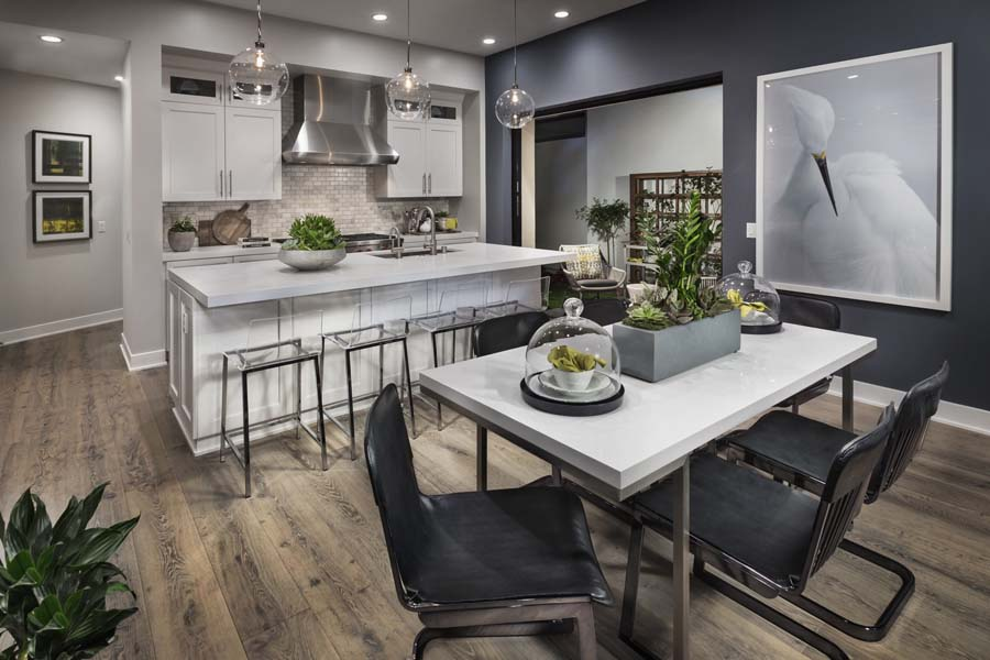 Dining/Kitchen Residence 2 | The Collection at Playa Vista in Los Angeles, CA | Brookfield Residential