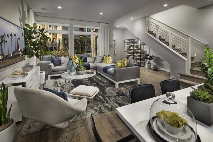 Great Room Residence 2 | The Collection at Playa Vista in Los Angeles, CA | Brookfield Residential