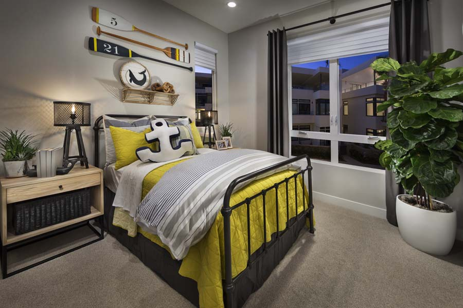 Kids Bedroom Residence 2 | The Collection at Playa Vista in Los Angeles, CA | Brookfield Residential