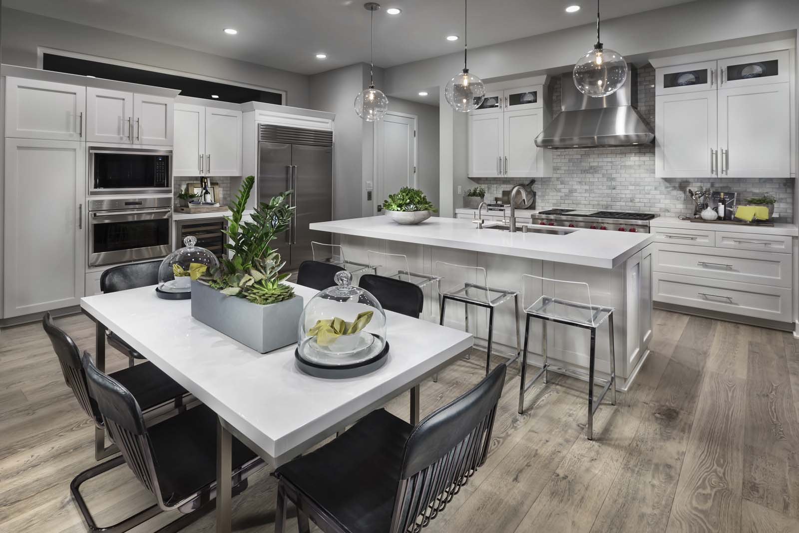 Kitchen Residence 2 | The Collection at Playa Vista in Los Angeles, CA | Brookfield Residential