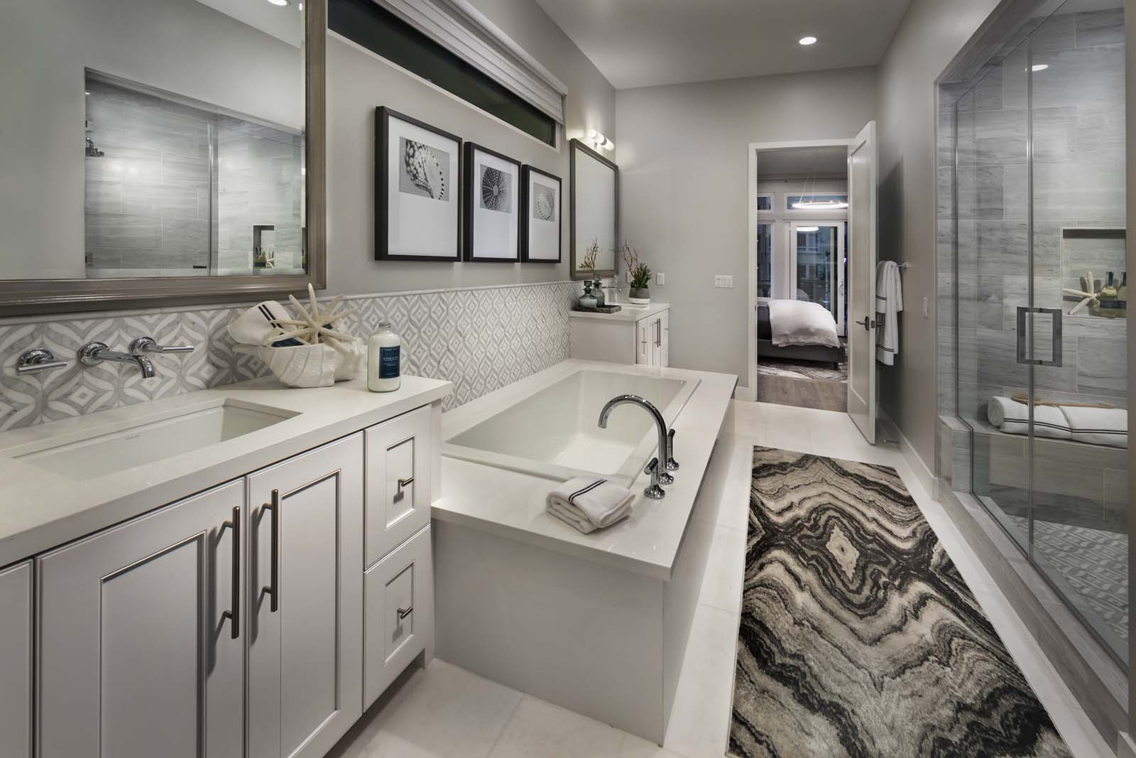 Master Bath Residence 2 | The Collection at Playa Vista in Los Angeles, CA | Brookfield Residential