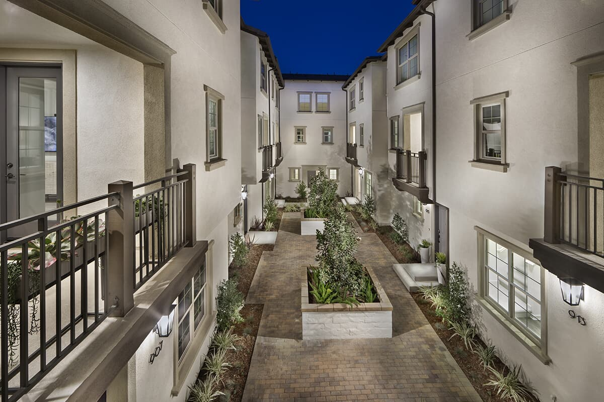 Atrium | Latitude at Rancho Tesoro in San Marcos, CA | Brookfield Residential