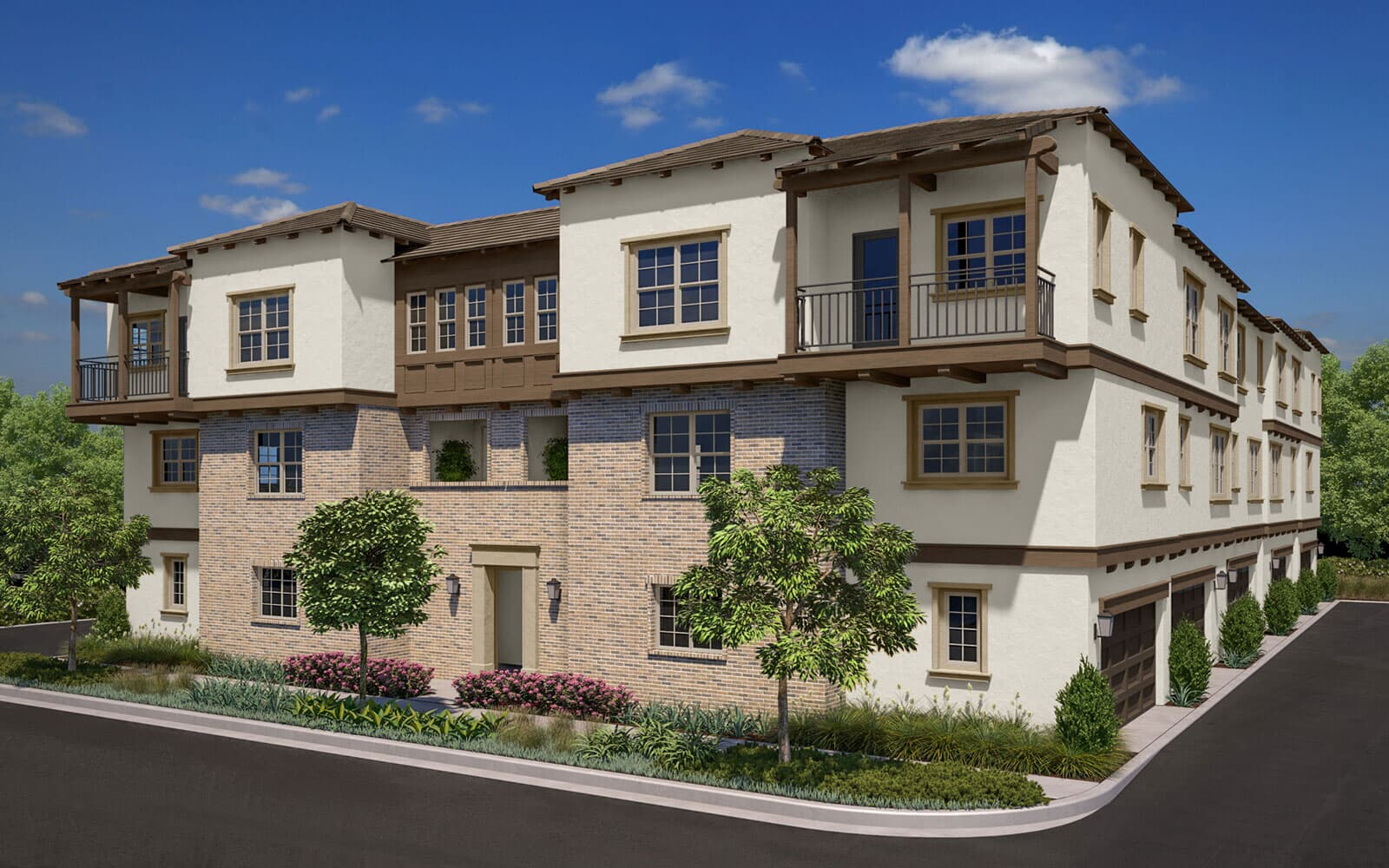 Exterior rendering | Latitude at Rancho Tesoro in San Marcos, CA | Brookfield Residential