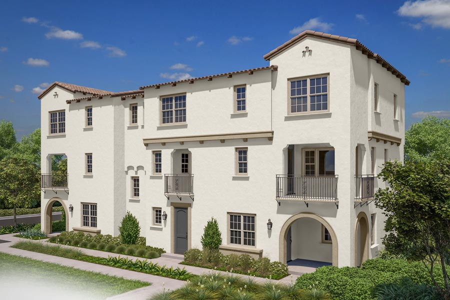 Residence 1 Exterior, Building 14 | New home in San Marcos, CA | Latitude at Rancho Tesoro | Brookfield Residential
