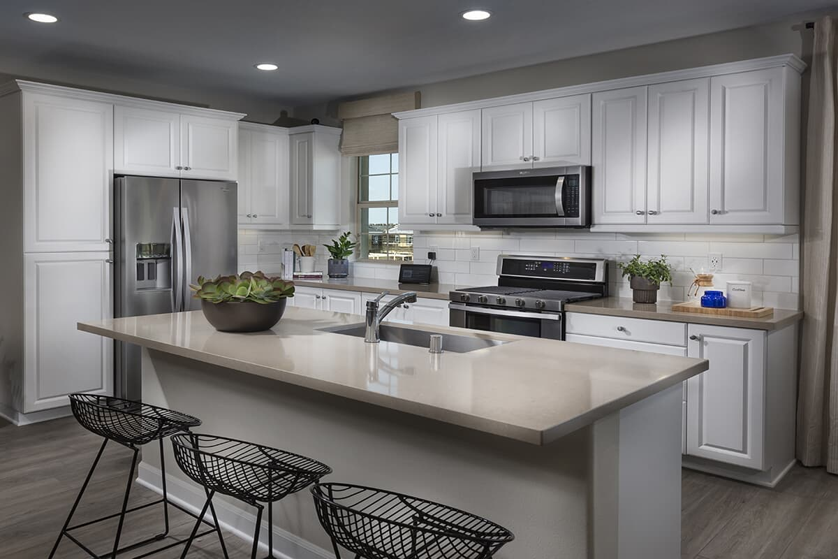 Residence 2 kitchen | Latitude at Rancho Tesoro in San Marcos, CA | Brookfield Residential