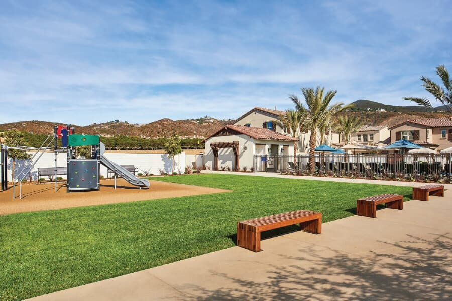 Playground | Rancho Tesoro in San Marcos, CA | Brookfield Residential