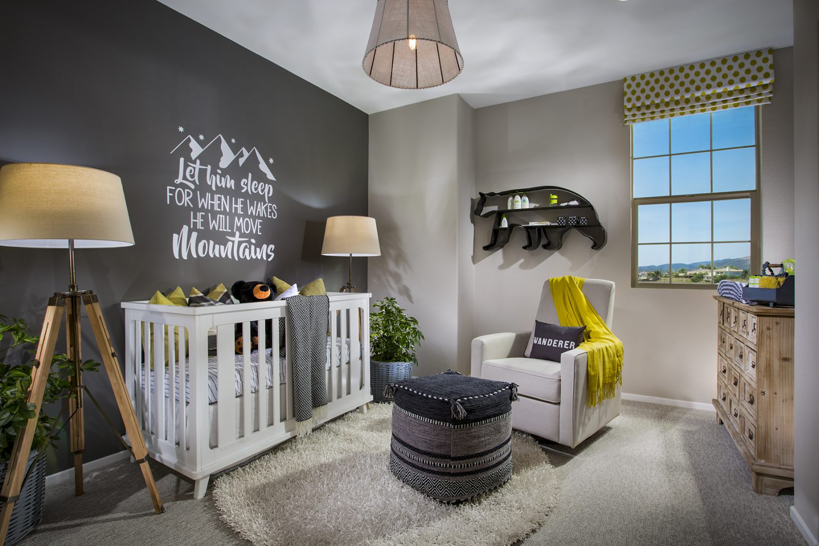 Residence 1 Baby Room | Terracina at Rancho Tesoro in San Marcos, CA | Brookfield Residential