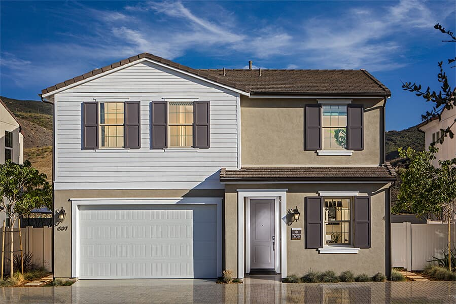 Residence 1 exterior | Terracina at Rancho Tesoro in San Marcos, CA | Brookfield Residential