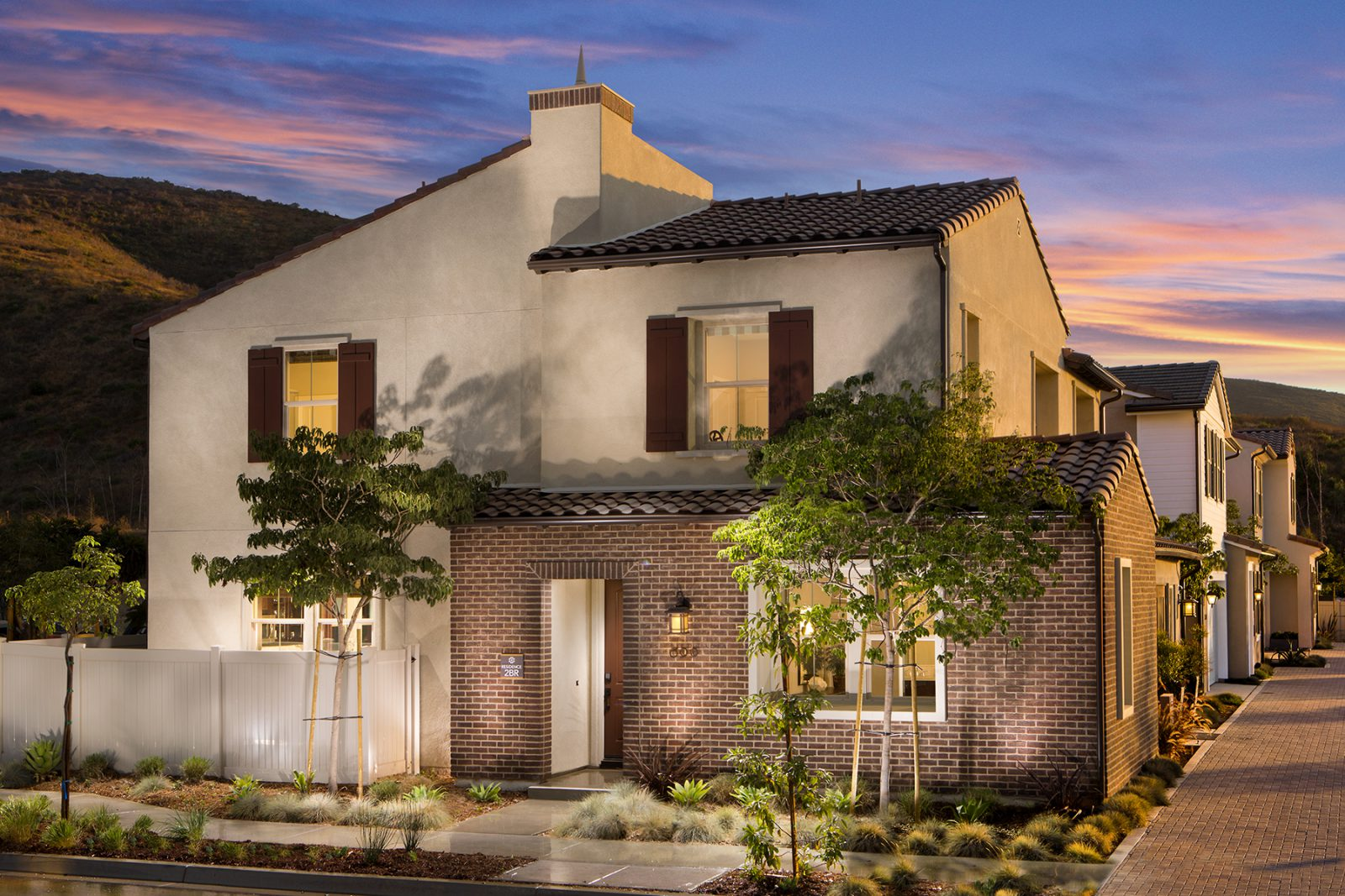 Residence 2 Exterior | Terracina at Rancho Tesoro in San Marcos, CA | Brookfield Residential